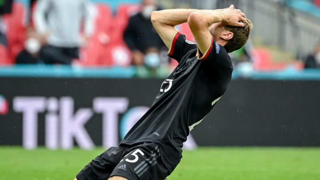 Thomas Muller disappointed