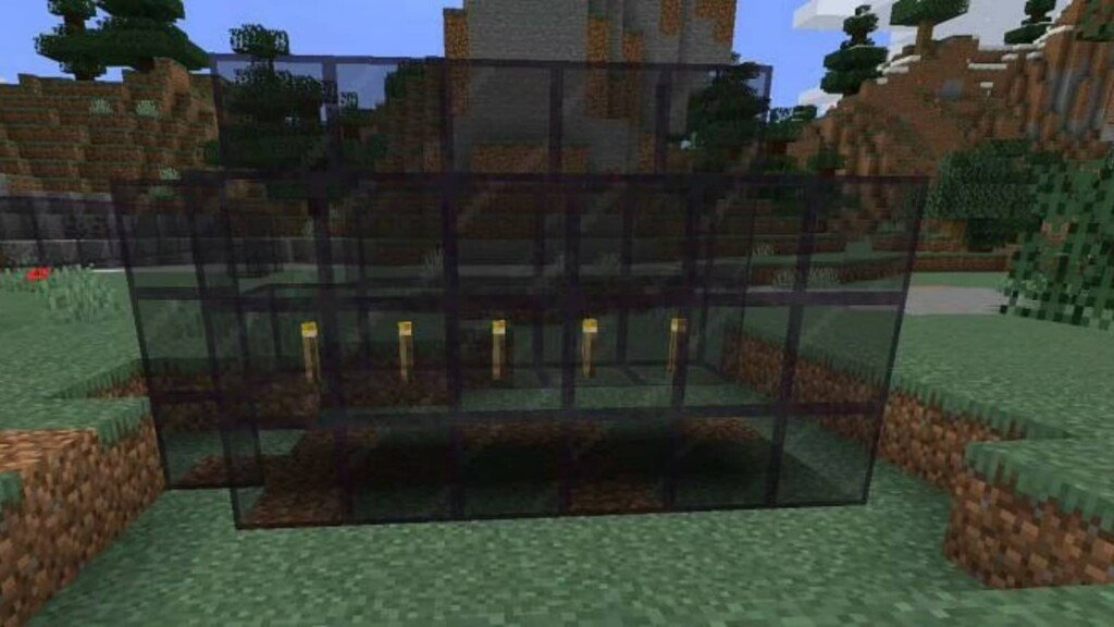 Tinted Glass in Minecraft