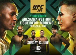 UFC 263 live results