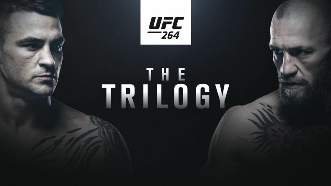 UFC 264 Full Fight Card