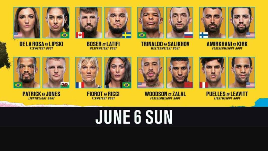 UFC Fight Night Rozenstruik vs Sakai