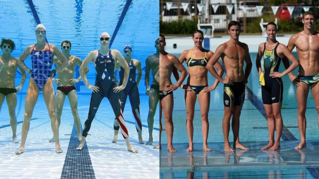 US vs Australia's Age Old Rivalry in Swimming