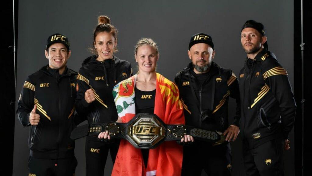Valentina Shevchenko team