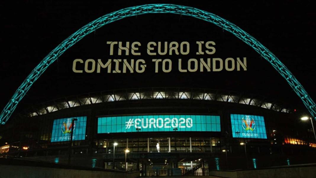 Wembley Stadium hosts Euro
