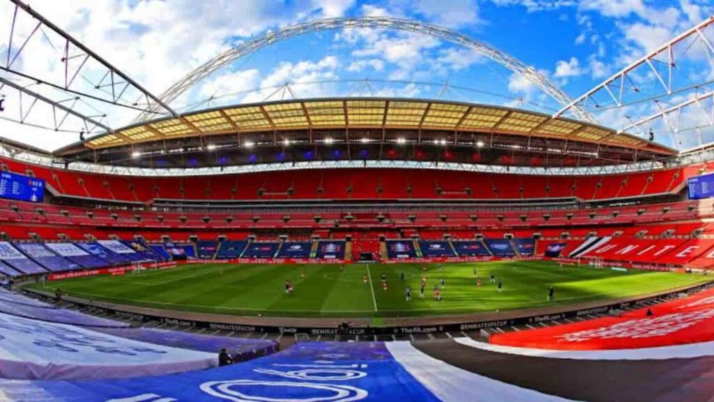 Wembley Stadium will host the final