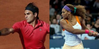 Roger Federer and Serena Williams
