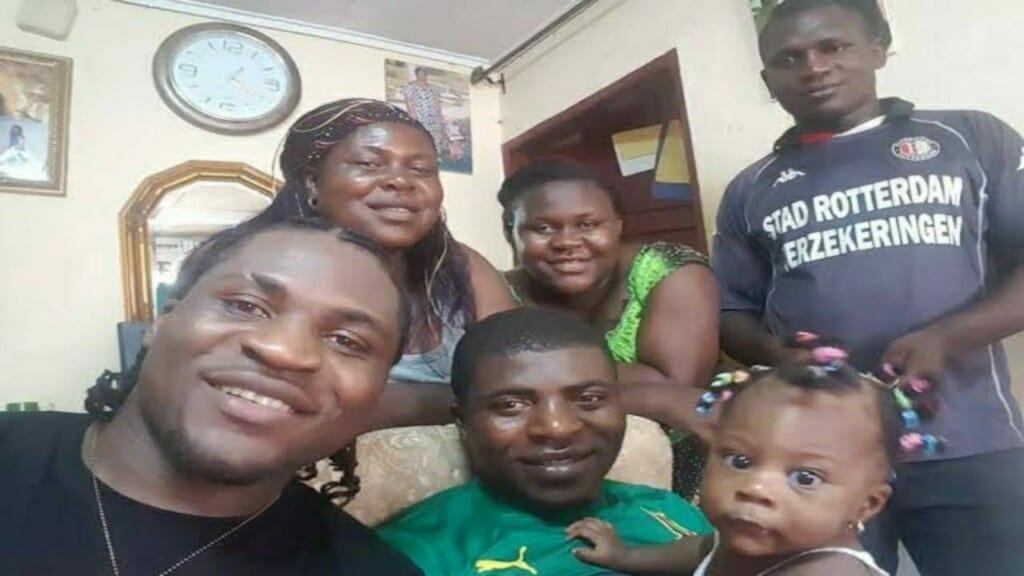 Francis Ngannou family