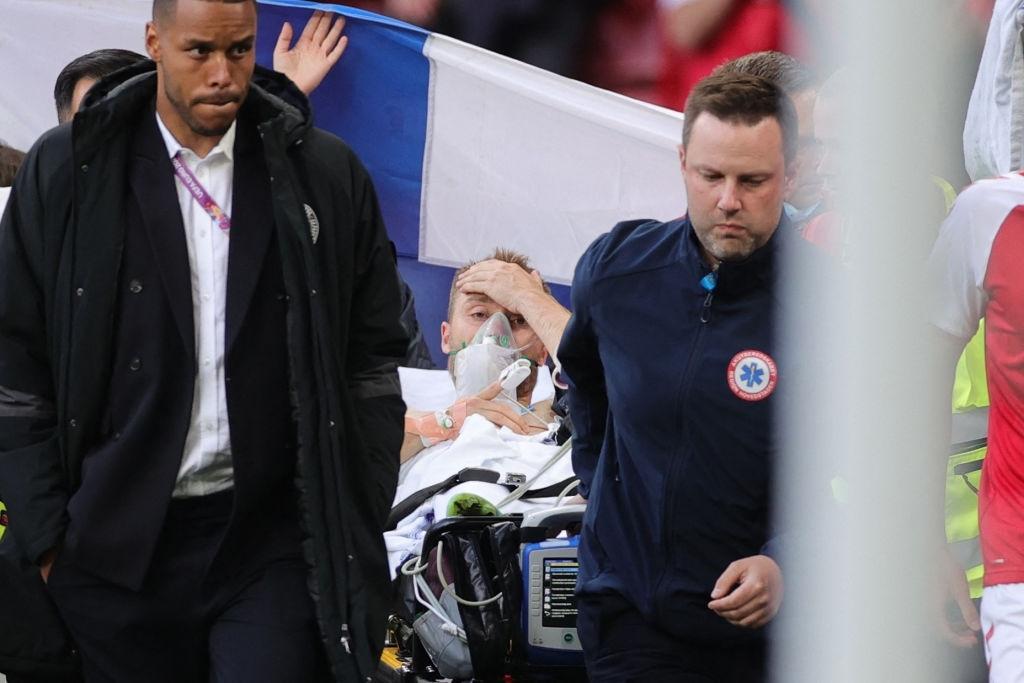 Christian Eriksen devastating injury