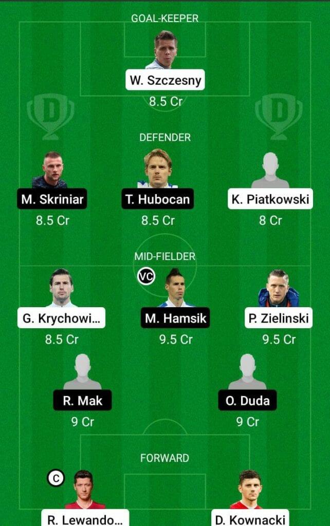 POL vs SLO Dream11 Prediction