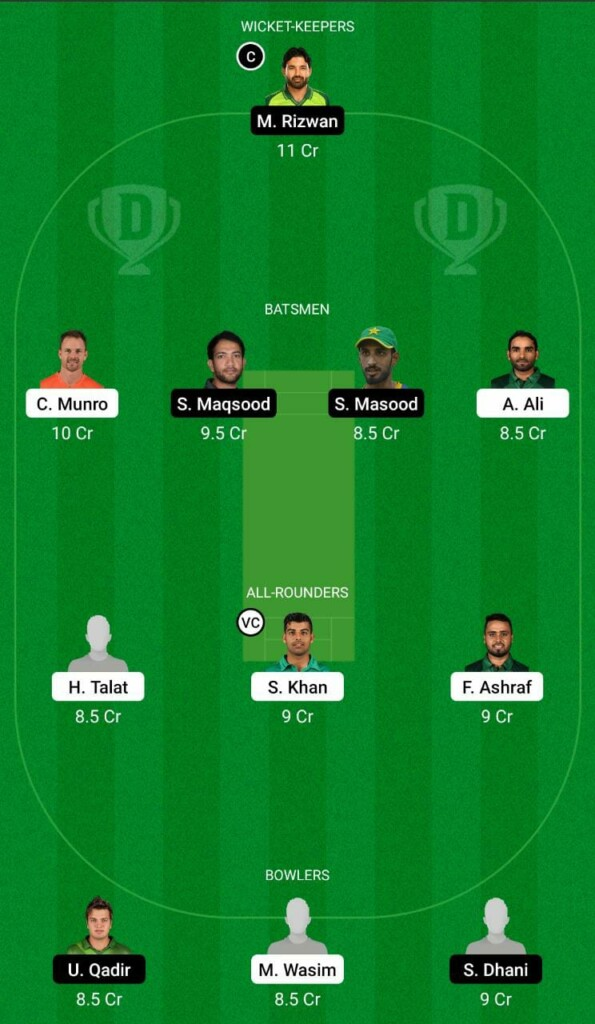 ISL vs MUL Dream11
