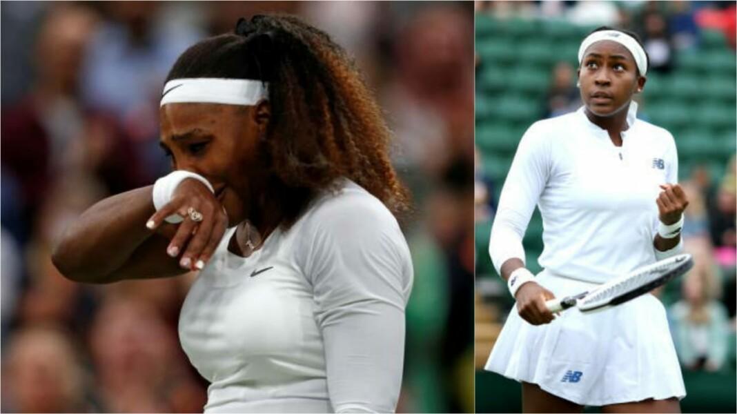 Serena Williams and Coco Gauff
