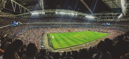 Wembley, the Mecca of football