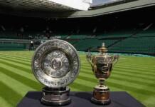 Wimbledon Championships 2021 Trophies