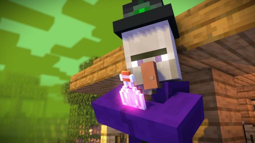 Witch in Minecraft