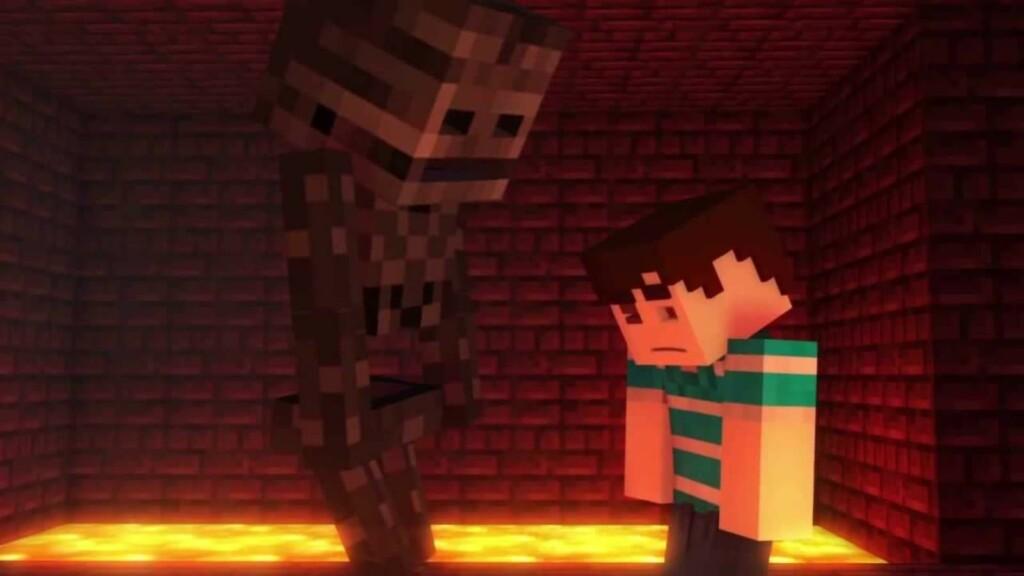 Wither Skeleton in Minecraft 2 - FirstSportz