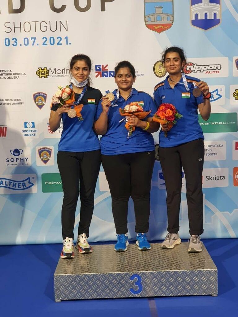 Womens 10m AP Podium - FirstSportz