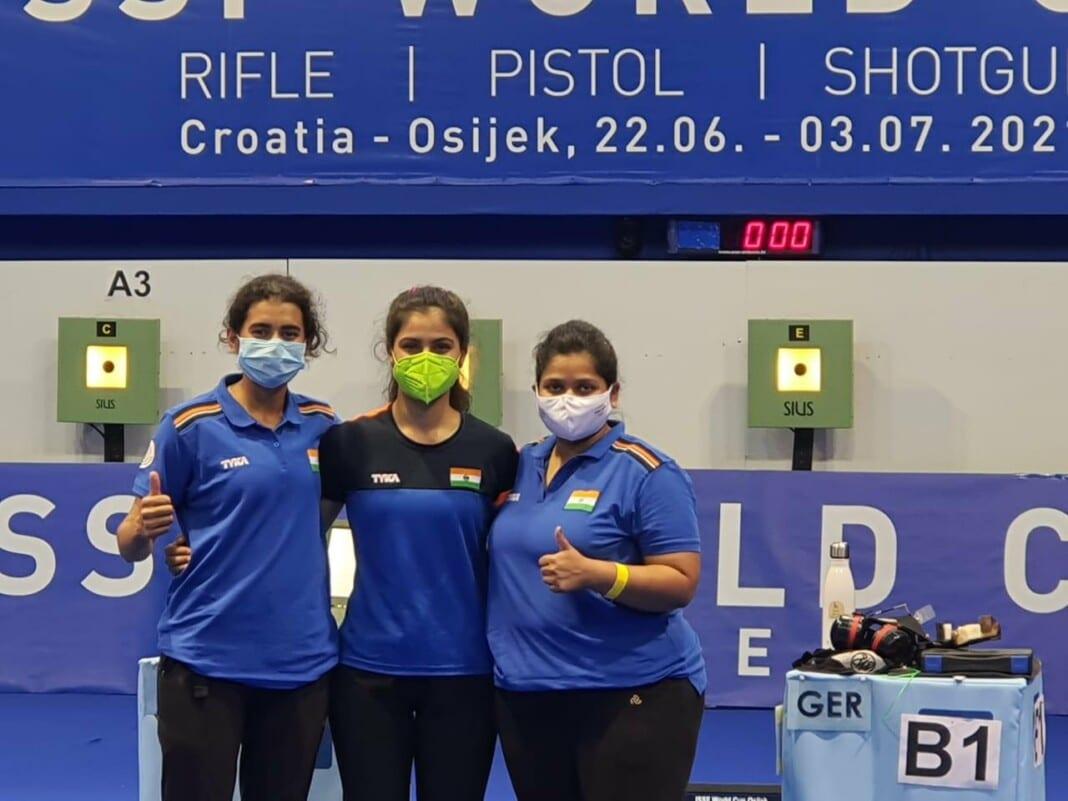 Women's 10m Air Pistol Team