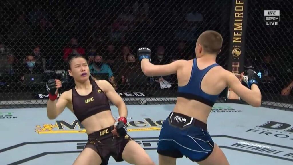 Zhang Weili vs Rose Namajunas