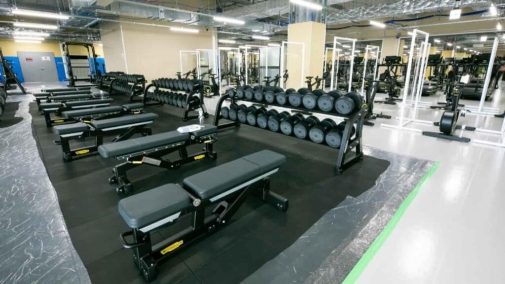 workout region