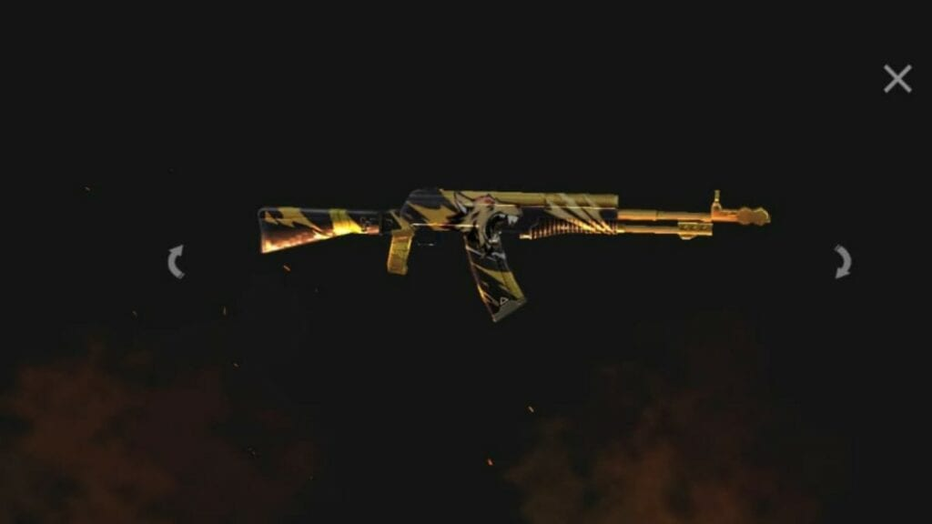 Top 5 Best AN94 Skins In Free Fire