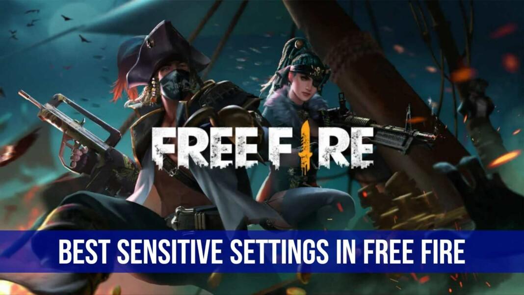 best sensitivity settings in free fire