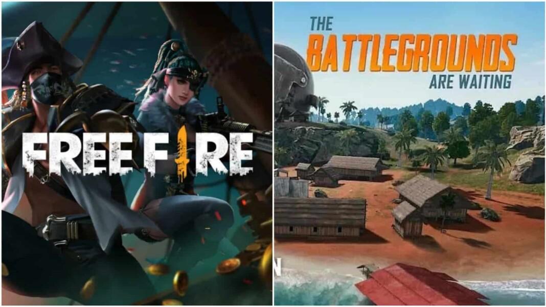 Free Fire vs BGMI
