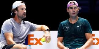 Rafael Nadal, Carlos Moya