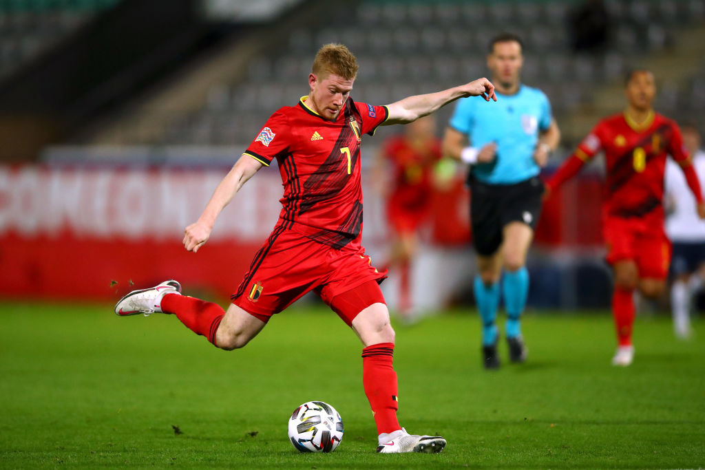 Kevin De Bruyne will join the Belgium squad on Monday after surgery