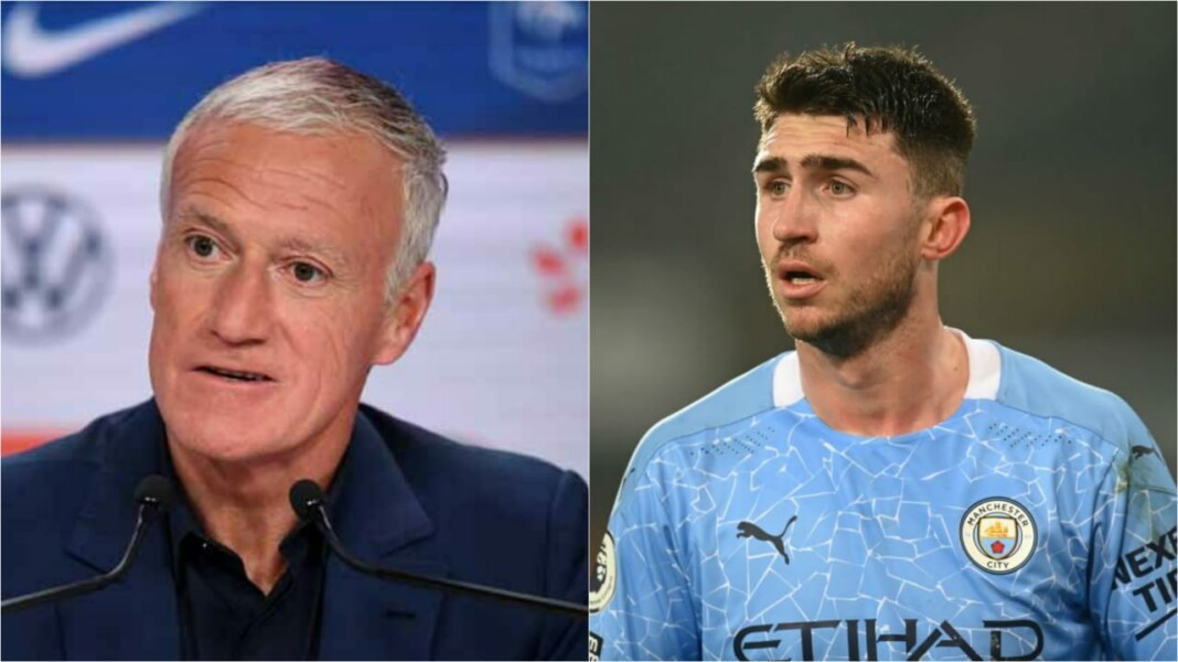 Deschamps left flustered over Laporte's decision to play for Spain