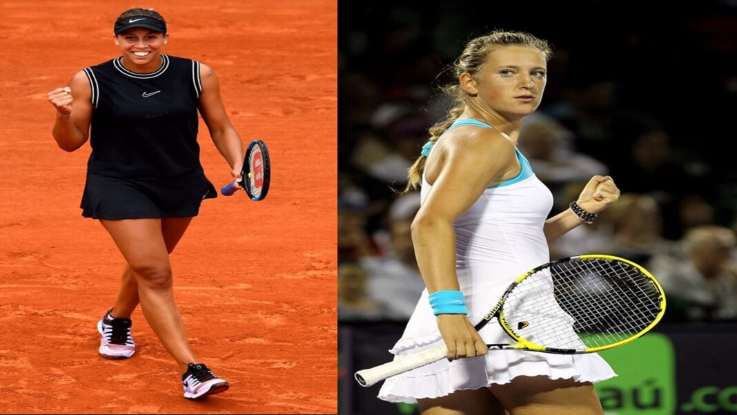 Victoria Azarenka and Madison Keys