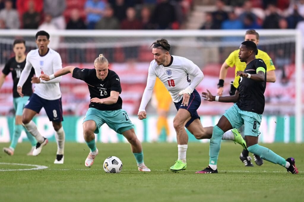 Jack Grealish was one the standout player for England