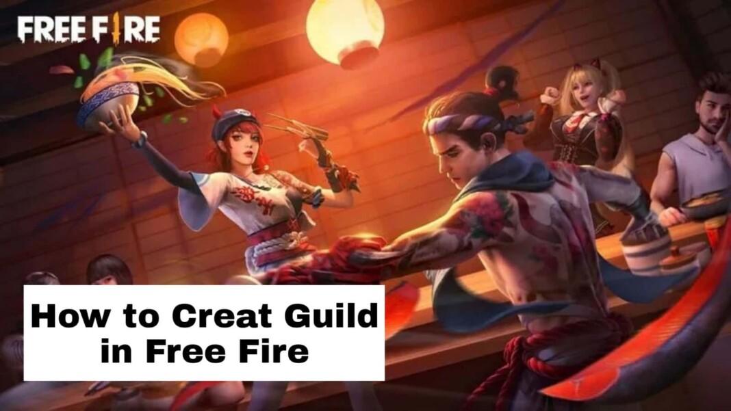 Create Guild In Free Fire