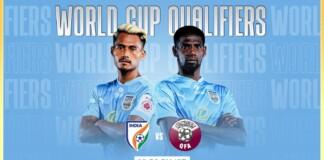 India vs Qatar World Cup Qualifiers