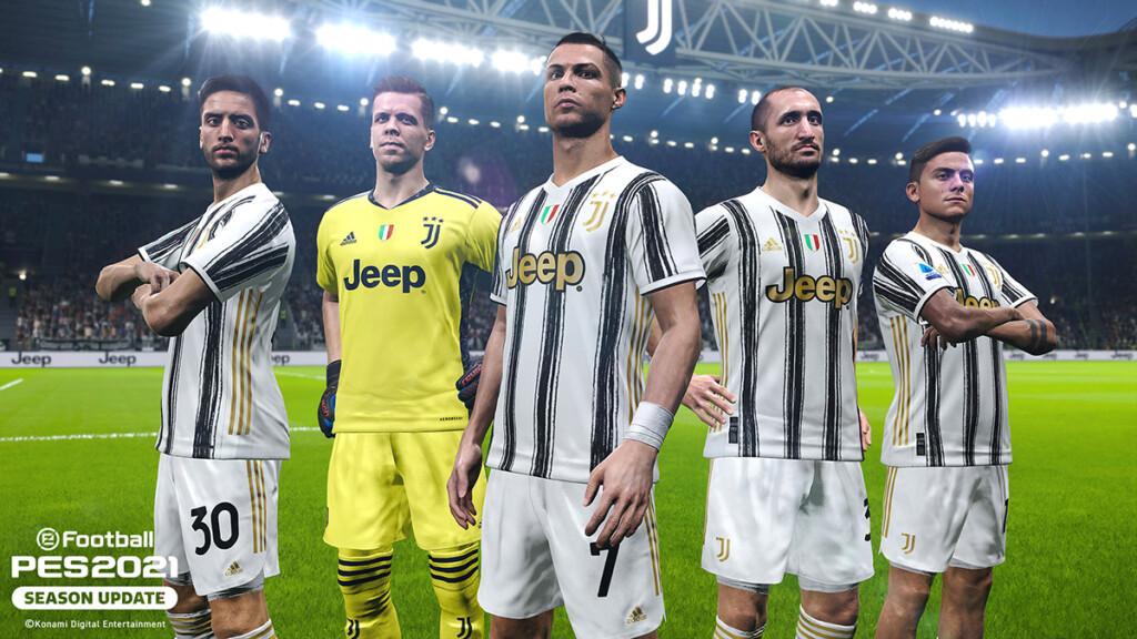 Juventus in PES 2021