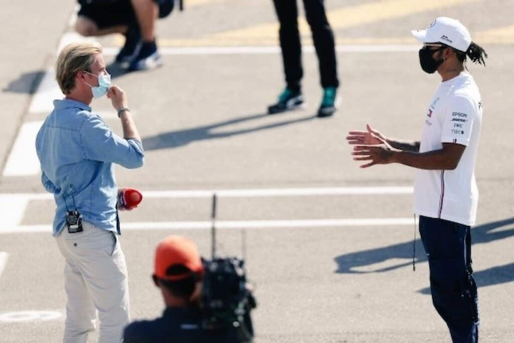 Lewis Hamilton on Nico Rosberg Soft JibeLewis Hamilton on Nico Rosberg Soft Jibe