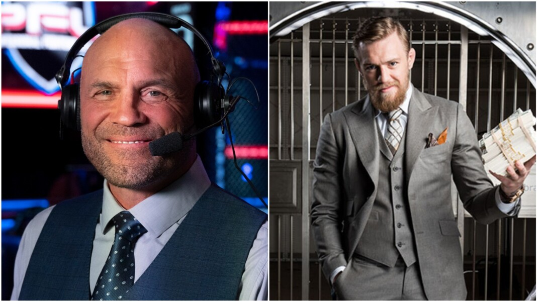 Randy Couture and Conor McGregor