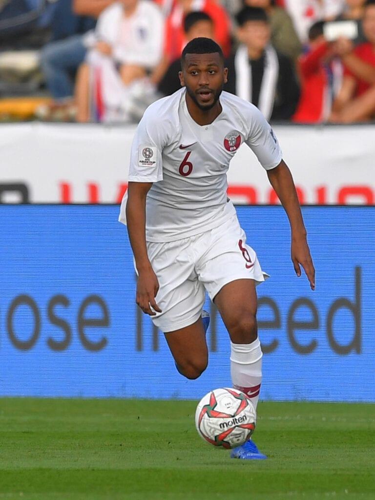 Abdulaziz Hatem gave Qatar the lead