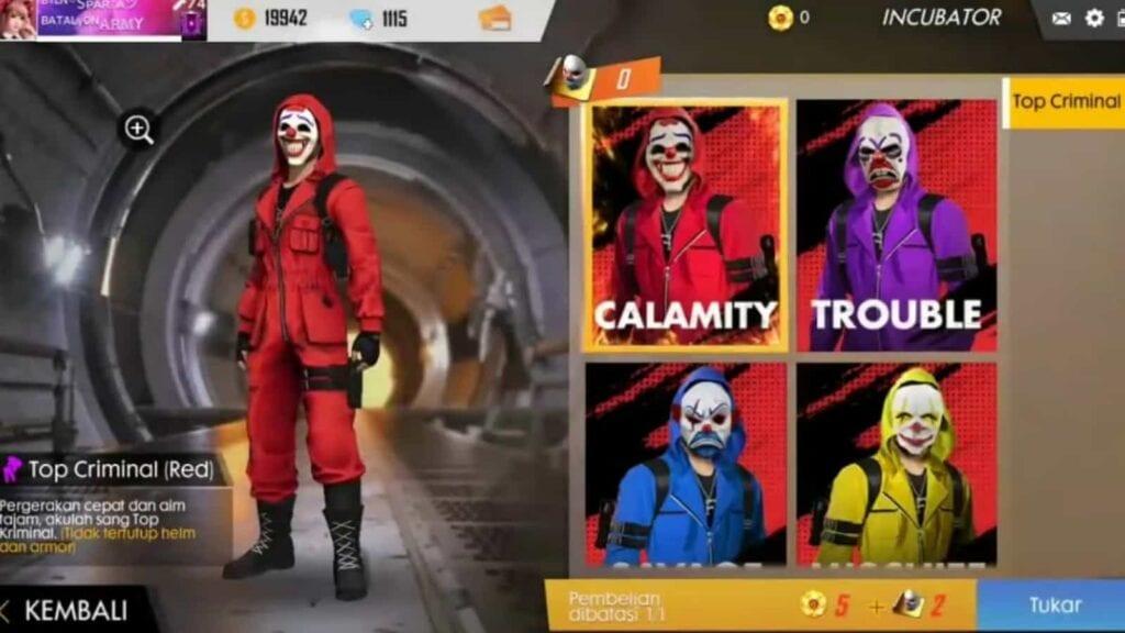 red criminal bundle