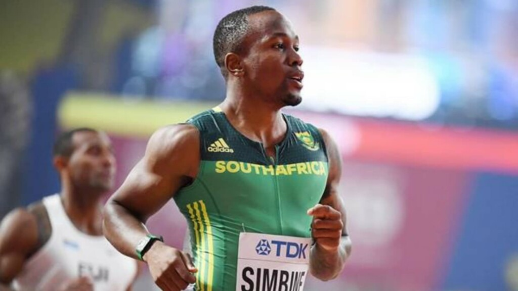 Akani Simbine - Contender for 100m gold at Tokyo Olympics