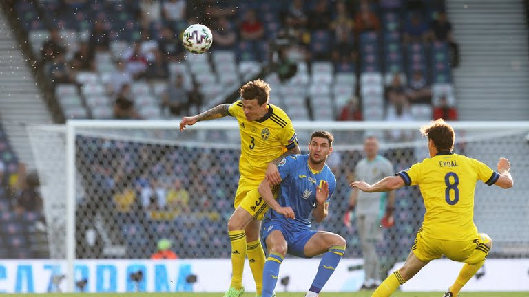 Euro 2020: Watch Sweden Vs Ukraine - Two fantastic goals from Zinchenko and Forsberg on either side to keep the game level