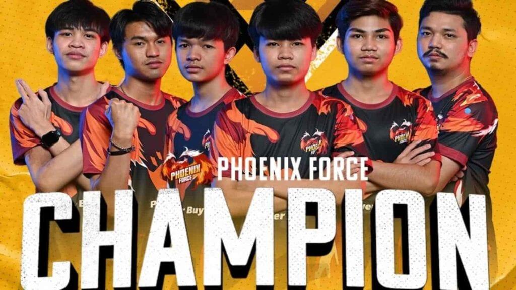 team phoenix force