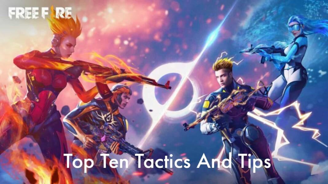 top 10 tactics in free fire
