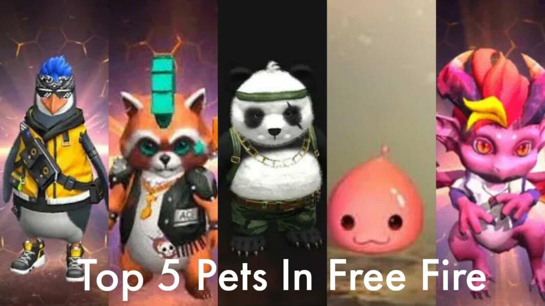 top 5 best pets in free fire