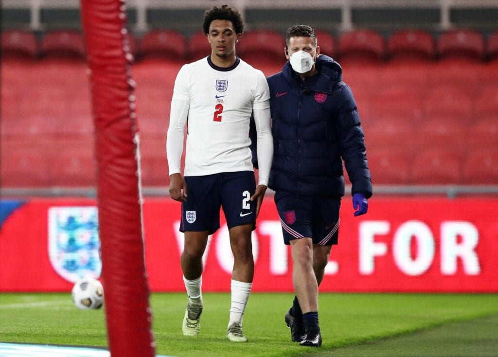 England defender Trent Alexander-Arnold has been ruled out of Euro 2020 after encountering a serious thigh injury in England's win over Austria