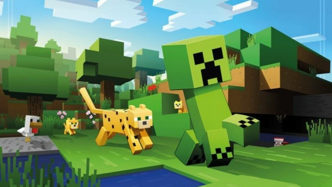 Cats in Minecraft