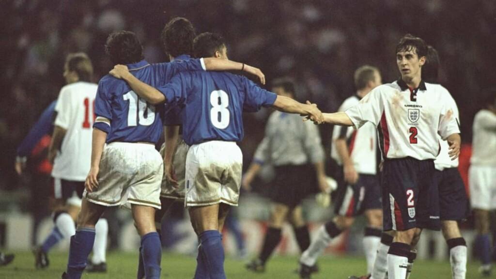 England vs Italy 1997 WCQ
