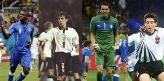 England vs Italy Collage