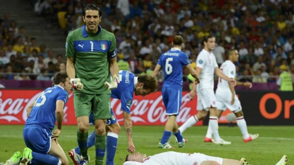 England vs Italy Euro
