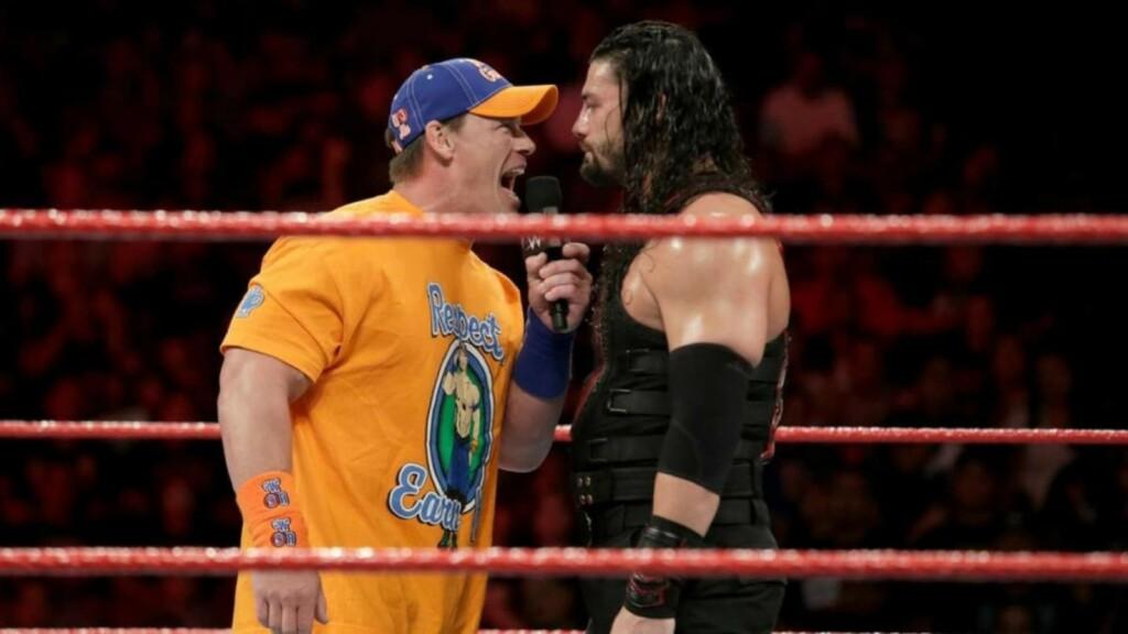 John Cena vs Roman Reigns