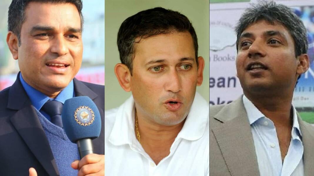 Sanjay Manjrekar, Ajit Agarkar and Ajay Jadeja